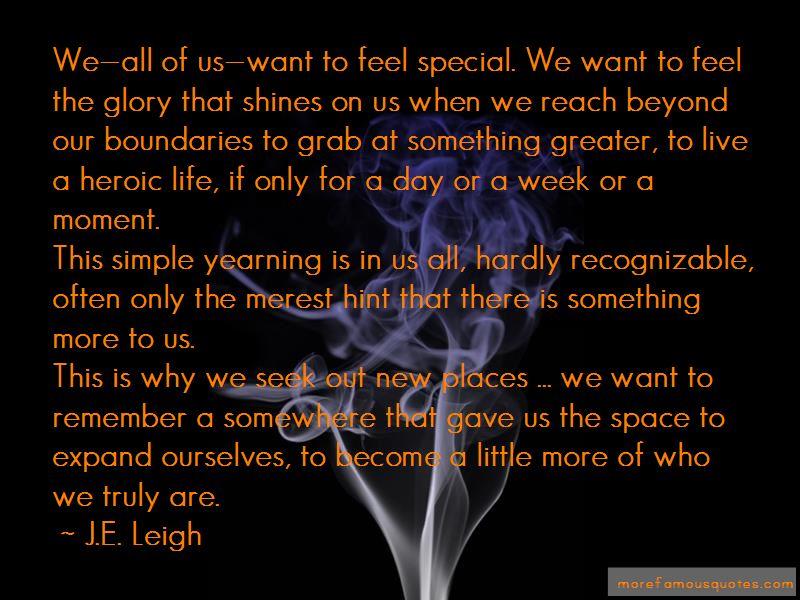J.E. Leigh Quotes