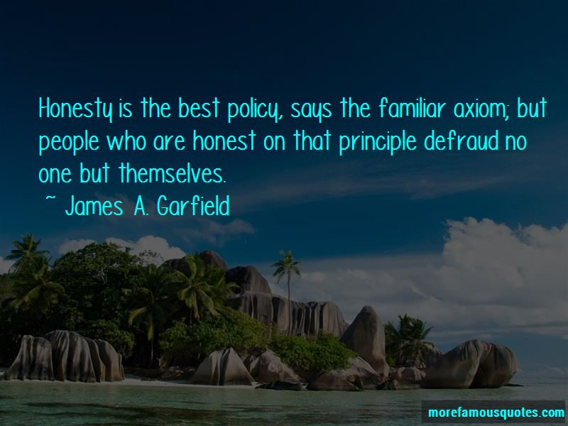 James A. Garfield Quotes Pictures 4