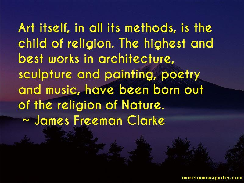 James Freeman Clarke Quotes Pictures 4