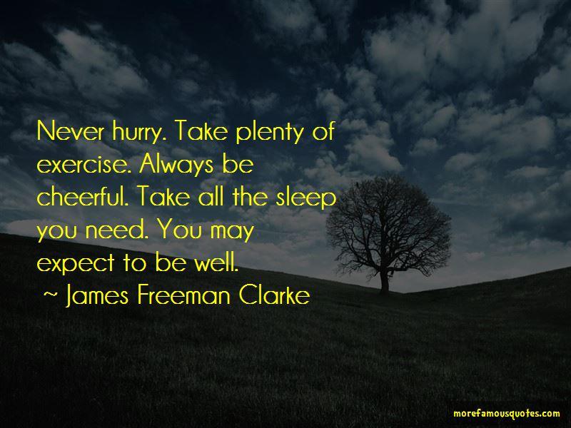 James Freeman Clarke Quotes