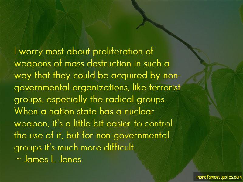 James L. Jones Quotes