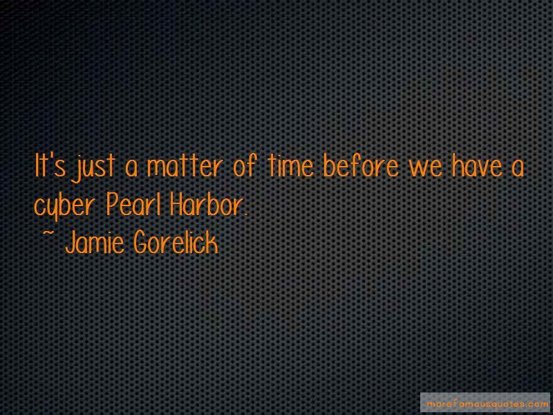Jamie Gorelick Quotes Pictures 2