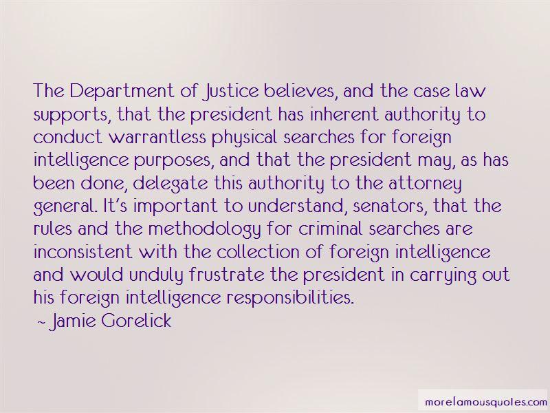 Jamie Gorelick Quotes