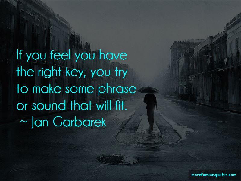 Jan Garbarek Quotes Pictures 2