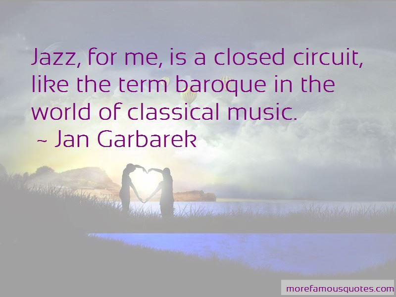 Jan Garbarek Quotes Pictures 3