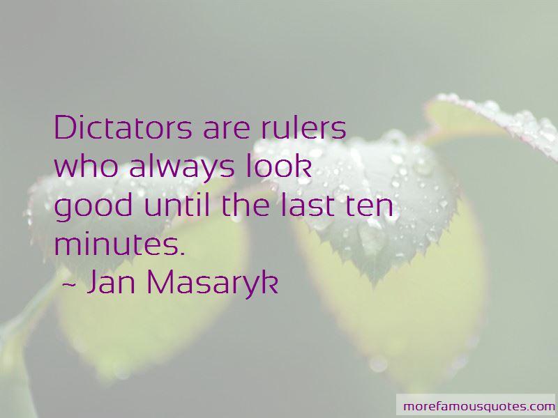 Jan Masaryk Quotes