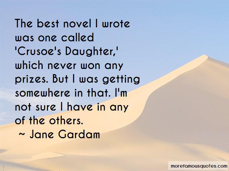 Jane Gardam Quotes