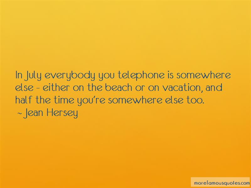 Jean Hersey Quotes Pictures 2