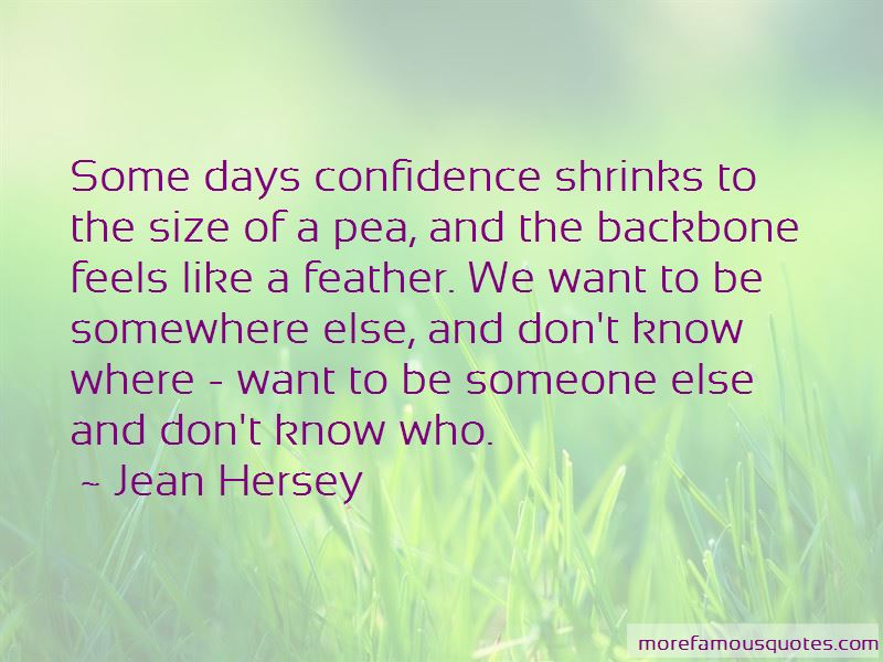 Jean Hersey Quotes