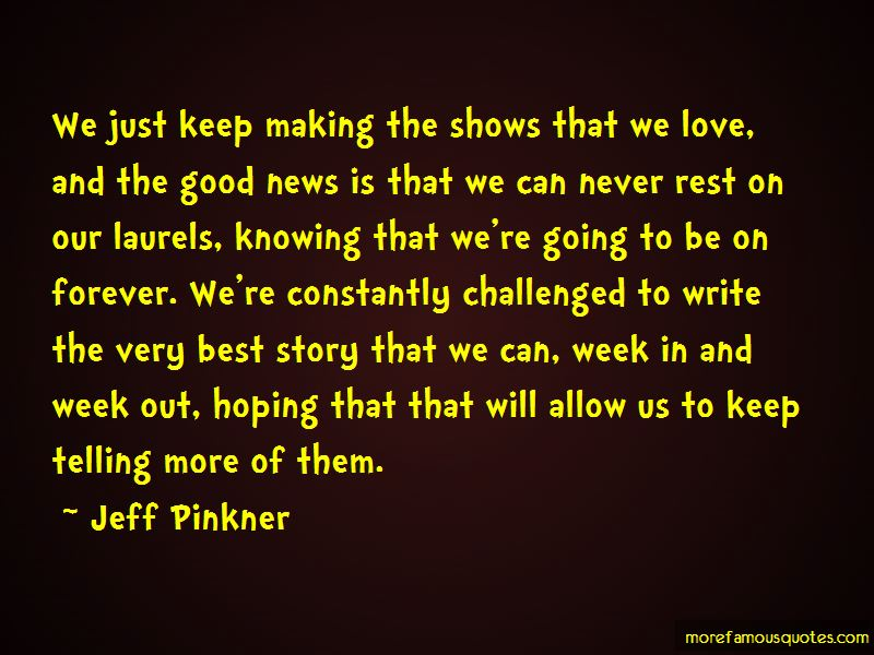 Jeff Pinkner Quotes