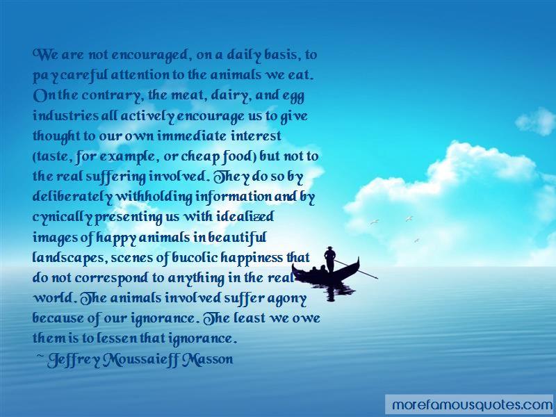 Jeffrey Moussaieff Masson Quotes