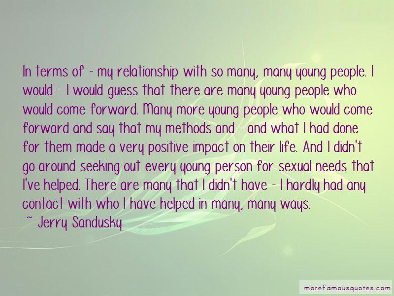 Jerry Sandusky Quotes