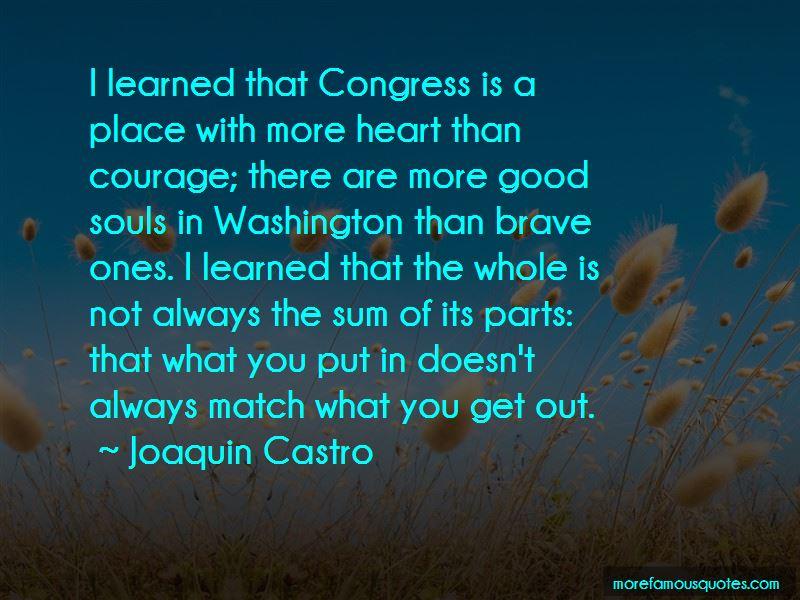 Joaquin Castro Quotes