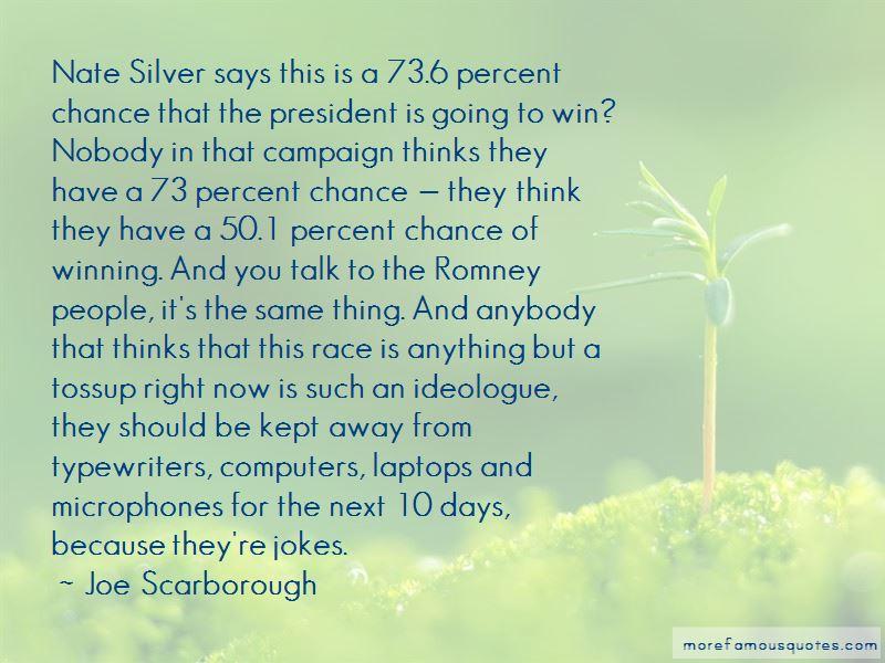 Joe Scarborough Quotes