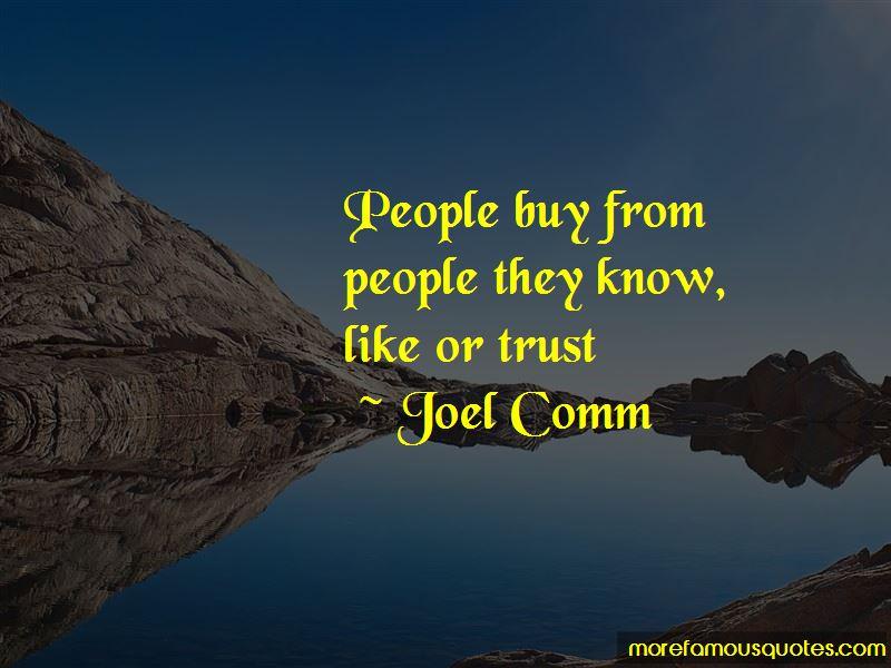 Joel Comm Quotes Pictures 3