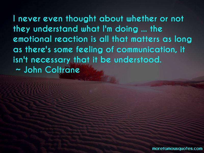 John Coltrane Quotes