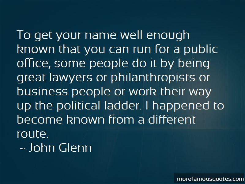 John Glenn Quotes