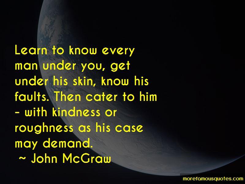 John McGraw Quotes Pictures 2