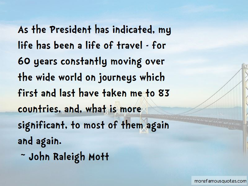 John Raleigh Mott Quotes