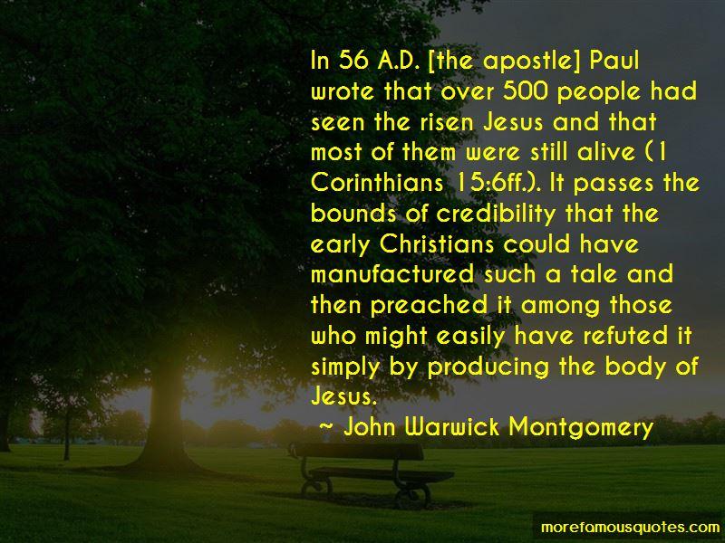 John Warwick Montgomery Quotes
