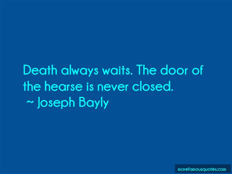 Joseph Bayly Quotes Pictures 2