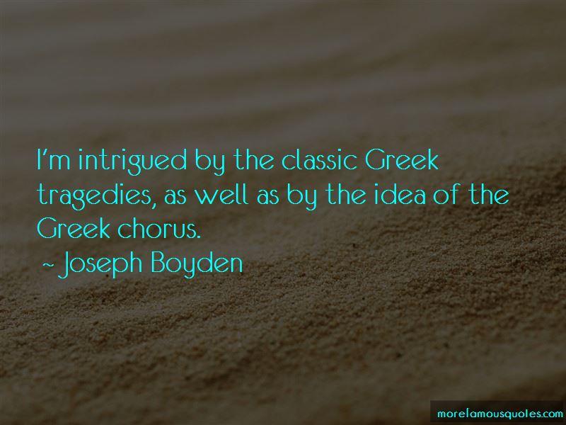 Joseph Boyden Quotes