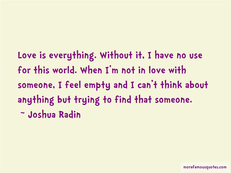 Joshua Radin Quotes Pictures 2