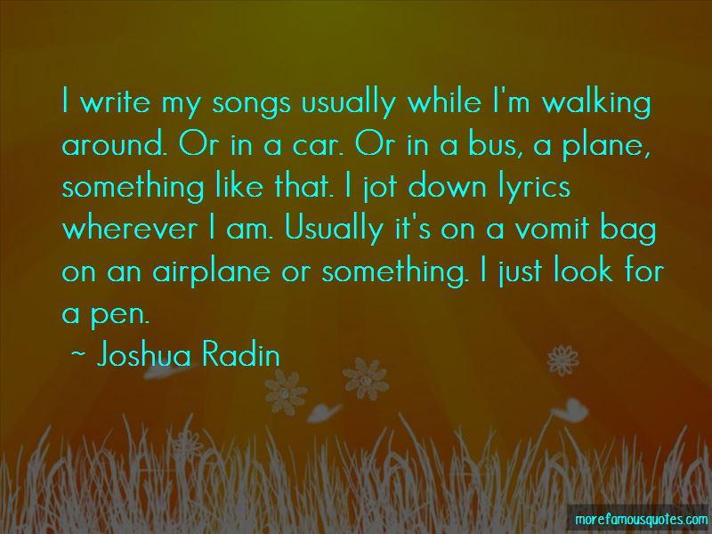 Joshua Radin Quotes Pictures 3