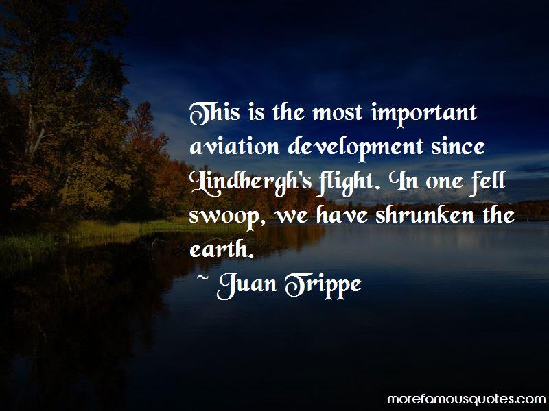 Juan Trippe Quotes