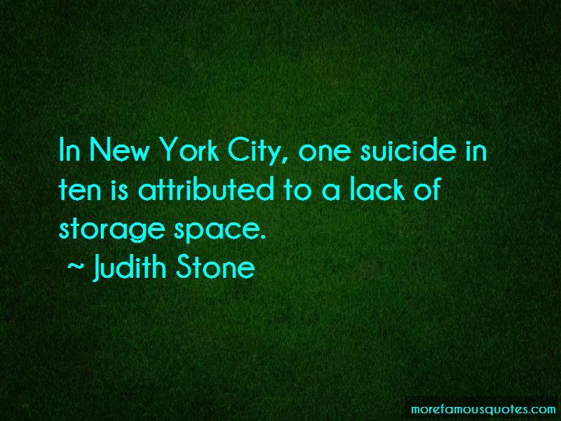 Judith Stone Quotes