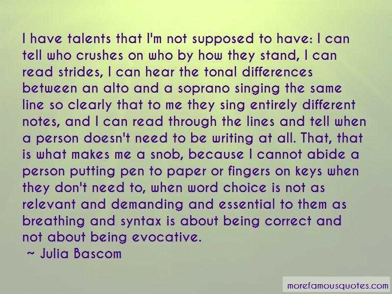 Julia Bascom Quotes