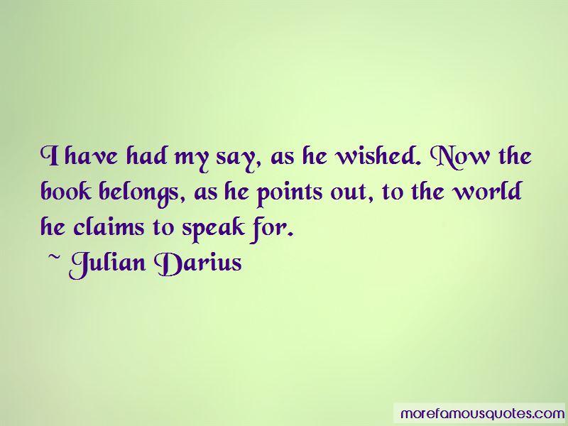 Julian Darius Quotes Pictures 3