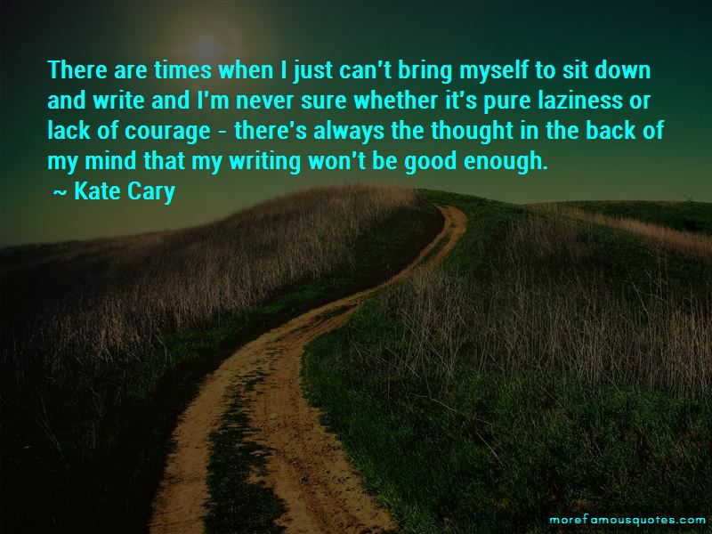 Kate Cary Quotes