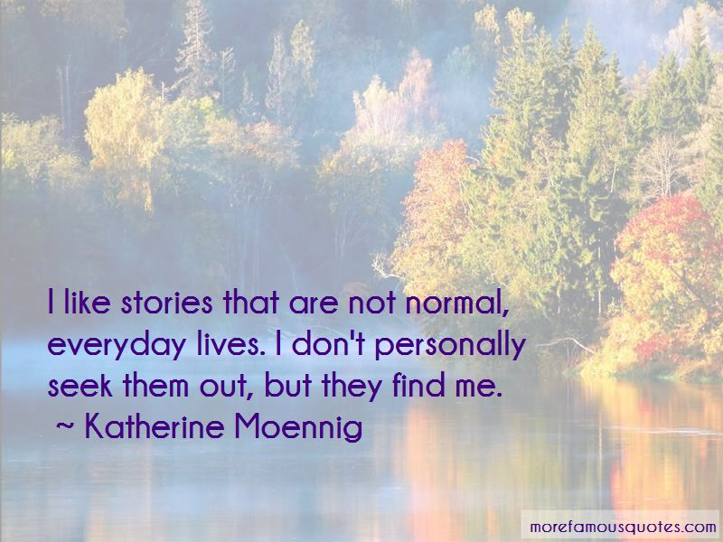 Katherine Moennig Quotes