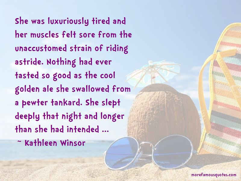 Kathleen Winsor Quotes Pictures 2