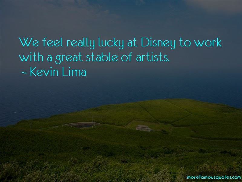 Kevin Lima Quotes Pictures 2