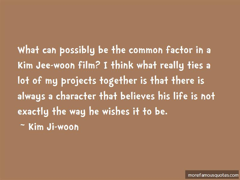 Kim Ji-woon Quotes Pictures 3