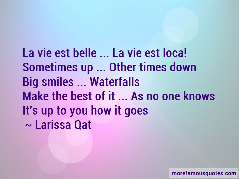 Larissa Qat Quotes Pictures 2
