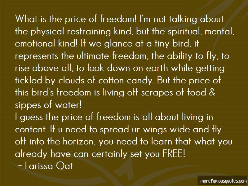 Larissa Qat Quotes