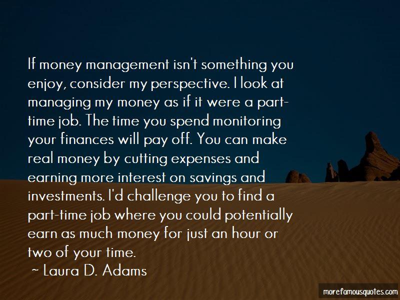 Laura D. Adams Quotes