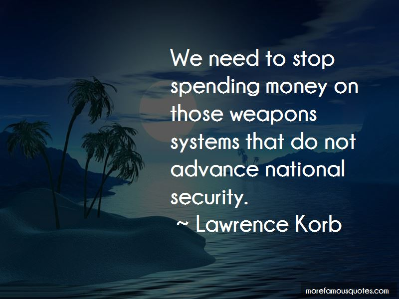 Lawrence Korb Quotes Pictures 2