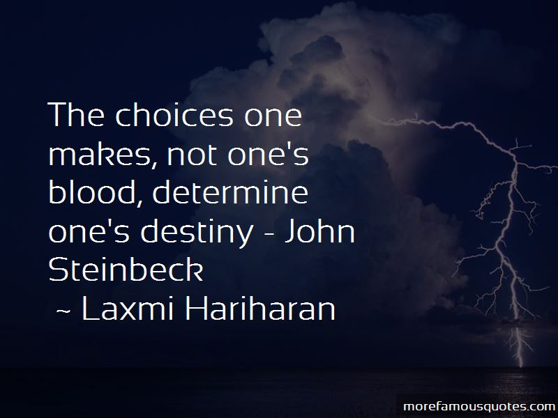 Laxmi Hariharan Quotes
