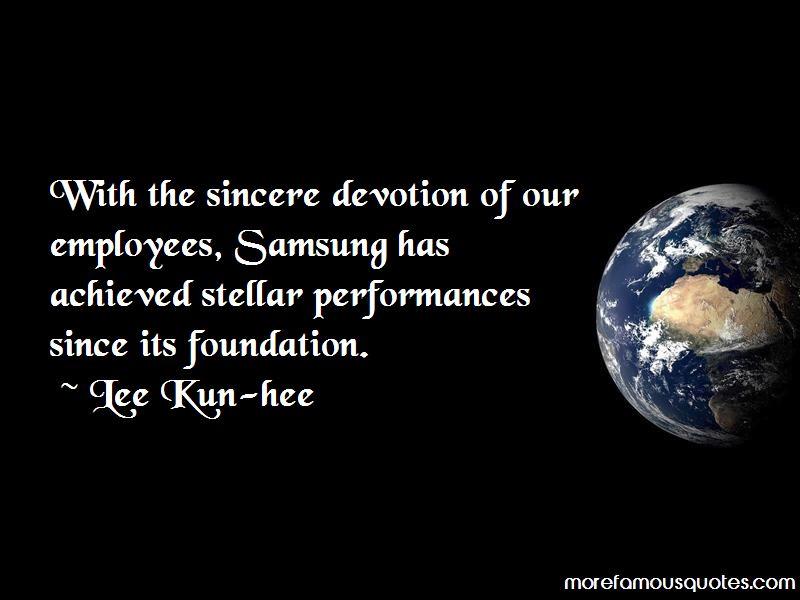 Lee Kun-hee Quotes Pictures 4
