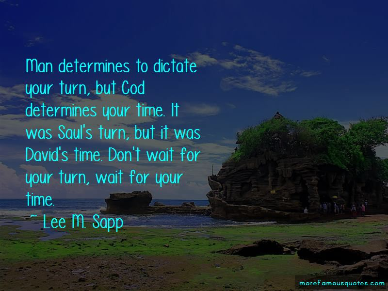 Lee M. Sapp Quotes Pictures 2