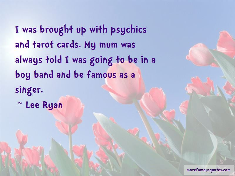 Lee Ryan Quotes Pictures 3