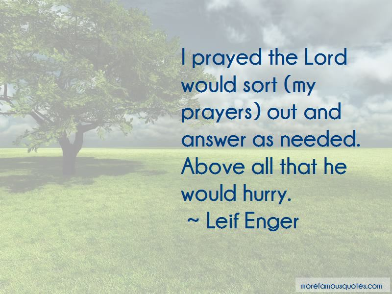 Leif Enger Quotes Pictures 3