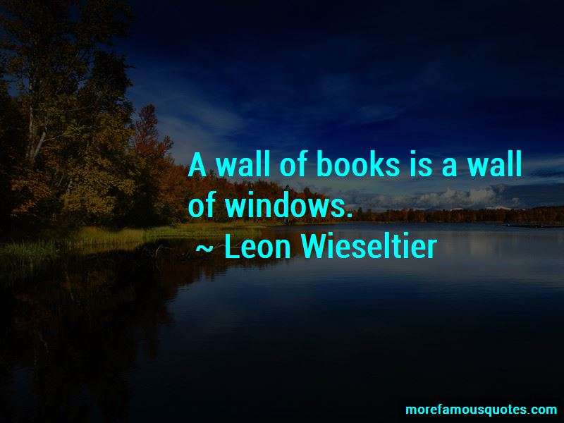 Leon Wieseltier Quotes Pictures 2