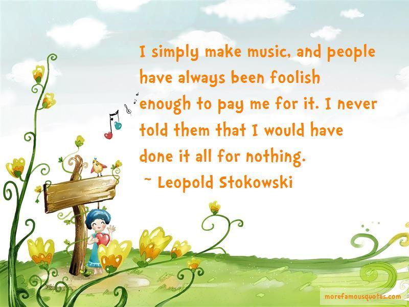 Leopold Stokowski Quotes Pictures 4