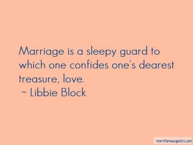 Libbie Block Quotes