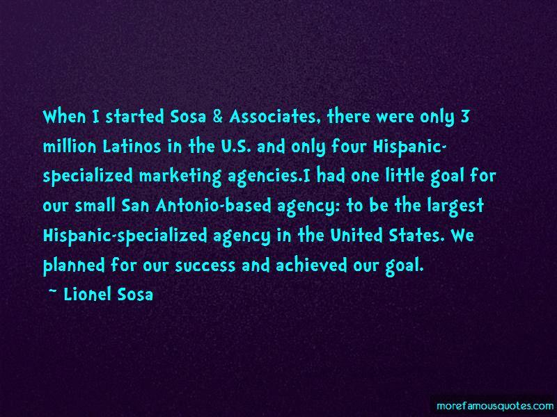 Lionel Sosa Quotes Pictures 3